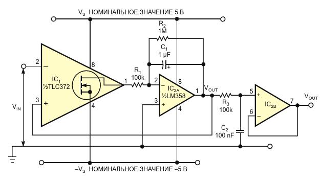 Использование повышающего драйвера светодиодов с выводом LEVEL,дополняющим вывод EN, и добавление к схеме драйвера RC фильтра нижнихчастот (R4-C3) уменьшает пульсации тока