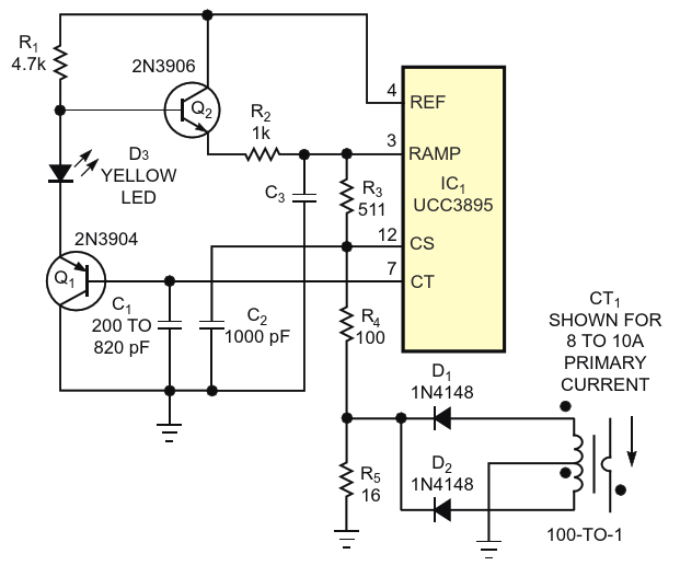For even better performance, add a level-shifting amplifier tothe ramp-voltage path