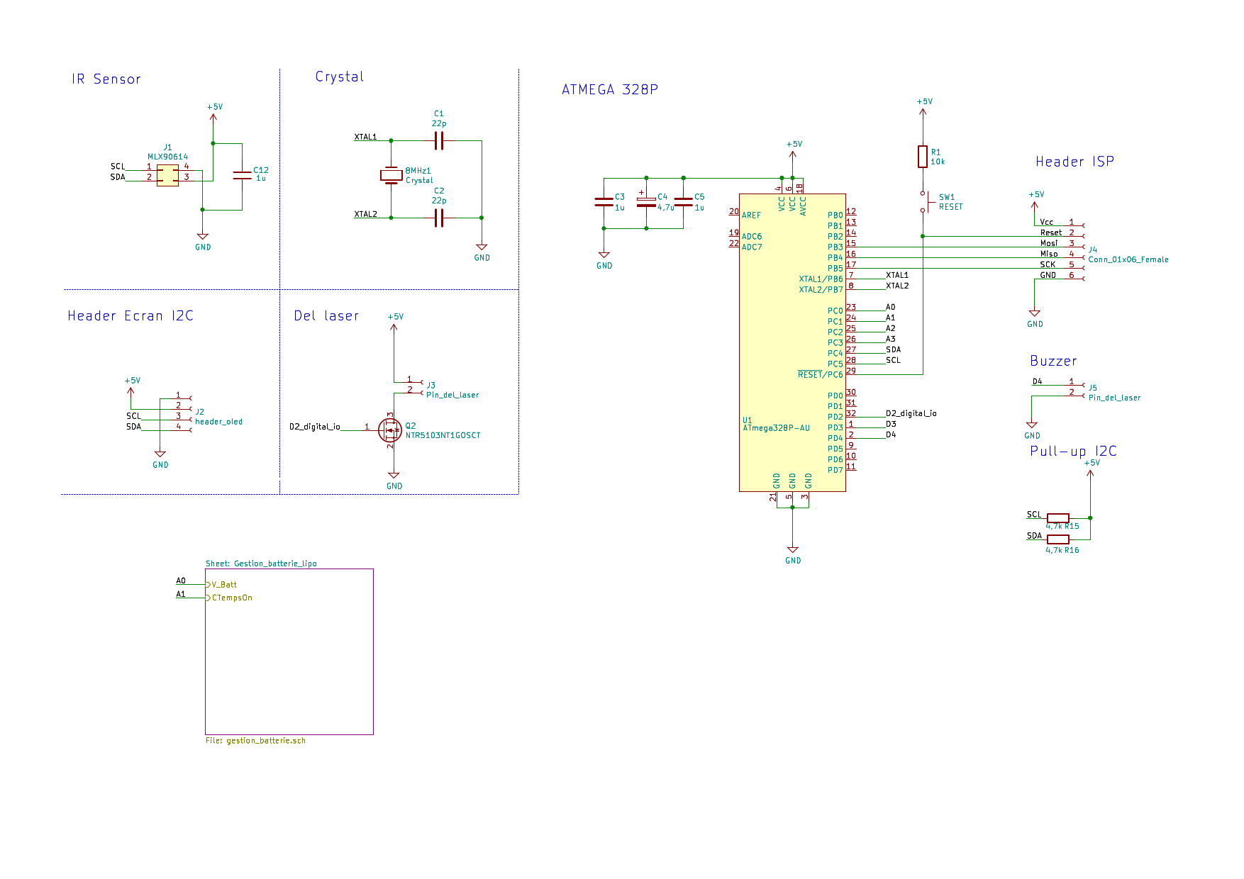 Принципиальная схема ИК-термометра ThermoPen