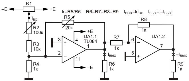 Электронный регулируемый «трансформатор»