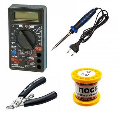 Универсальный набор инструментов радиолюбителя