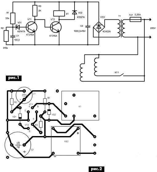 Принципиальная электрическая схема охлаждения двигателя ваз 2108.