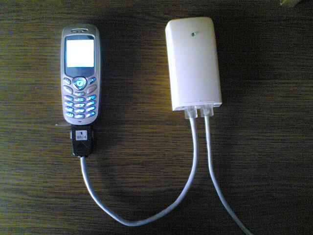 Охранная система на базе GSM телефона