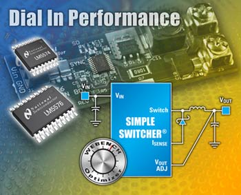 National Semiconductor High-Frequency Buck Switching Regulator Family