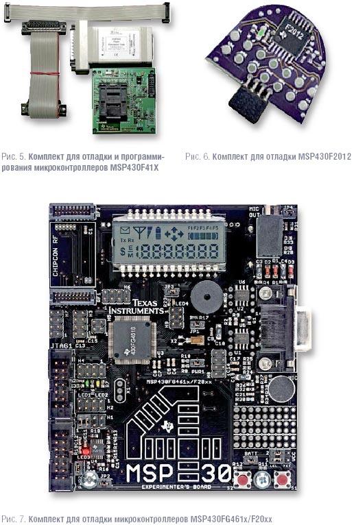 Средства разработки для микроконтроллеров MSP430.