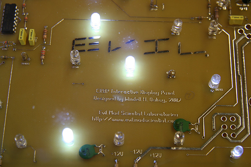 Interactive Coffee Table on LEDs