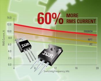 IRGB4056DPbF, IRGB4061DPbF, RGB4062DPbF, IRGP4062DPbF International Rectifier выпускает четыре новые модели IGBT на...