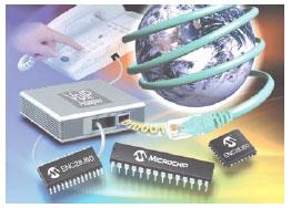 Интерфейсные микросхемы Microchip