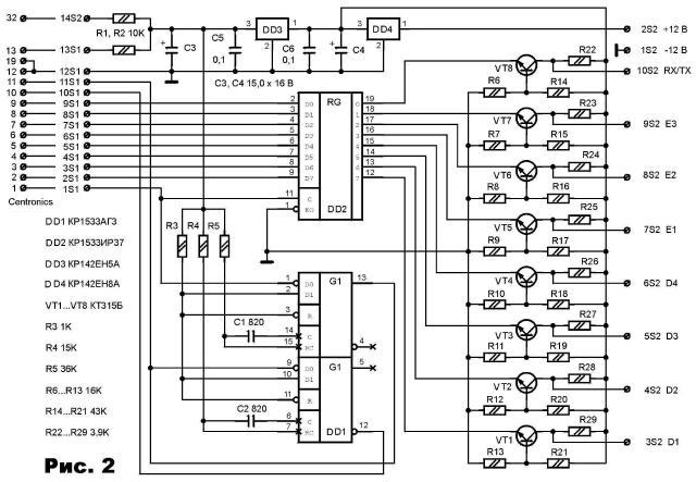 Сигналы кода частоты и режима