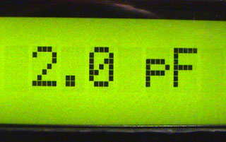 LC Meter LCD resolution