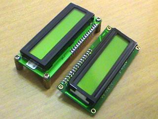LC Meter's LCD