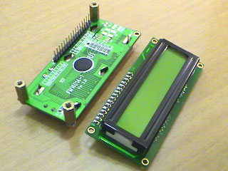 LC Meter's 16x2 LCD