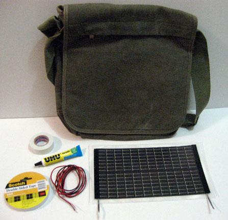 Неиссякаемый источник питания всегда с нами - сумка с солнечными батареями