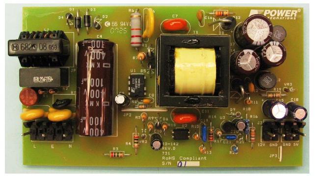 Источник питания 35 Вт для LCD монитора на микросхеме TOP258PN