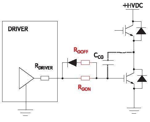 Разделенные резисторы в цепи