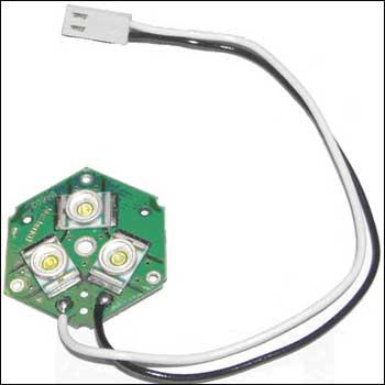 Экономичный светильник на мощных светодиодных лампах для радиолюбительского рабочего места