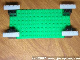 Lego fold the card