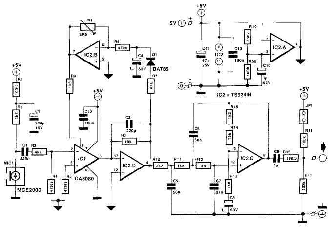 усилитель-компрессор - Практическая схемотехника.