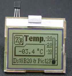"Amperage of the device varies because of the conversion of DS18B20 (measuring the temperature and reading the measured temperature), that lasts about 700ms and at that time the device uses 0.8 mA, for the next 500ms the device is in ""sleep"" mode and uses 0.2 mA."