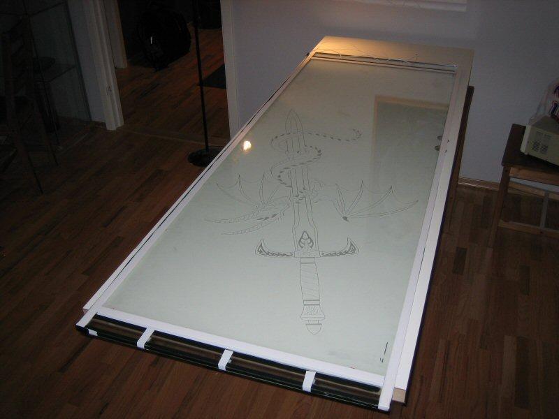 Как сделать дверь со стеклом