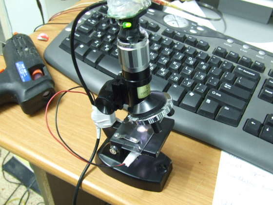 Электронный микроскоп своими руками из фотоаппарата