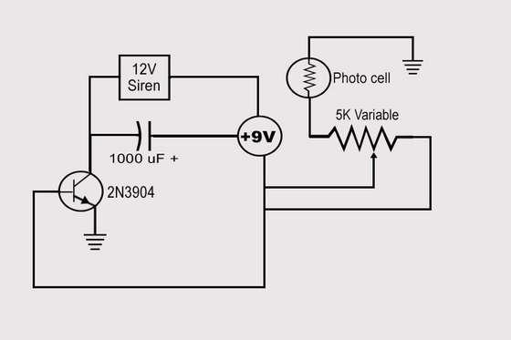 схема устройства Лазерная