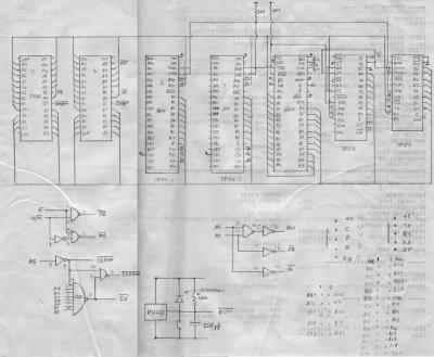 Электрическая принципиальная схема bluetooth.