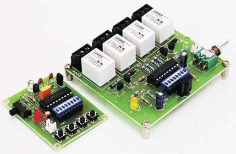 4 channel infrared remote relays rh radiolocman com Circuit Breaker Circuit Diagram Ignition Coil Circuit Diagram