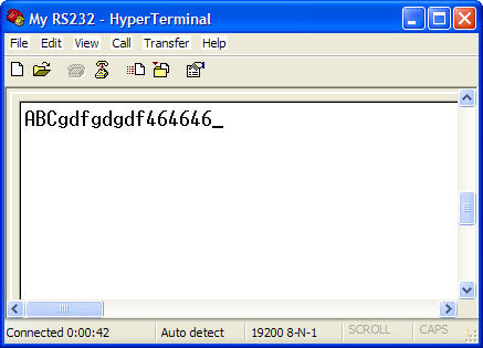 HyperTerminal