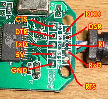 ИС ARK3116 (который я не могу найти) и PCB PAD для таких соединений, как стандартный RS232 вывод соединения