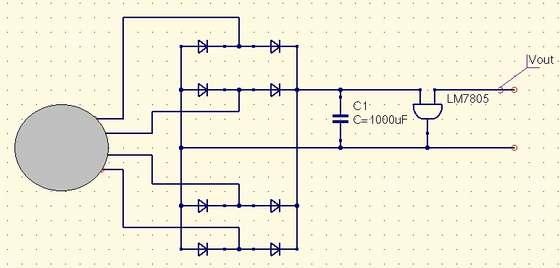 Заметка 1. Этот генератор может свободно вырабатывать напряжение более 5 вольт, однако в рамках этого проекта...