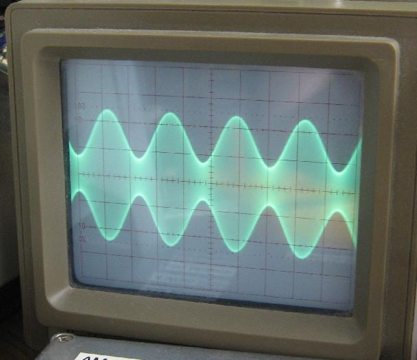First AM Modulation Waveform