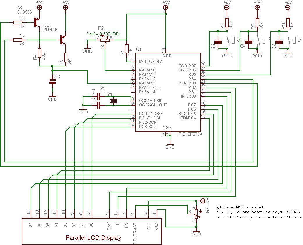 Это автоматически регулируемая версия, означающая...  Все основано на простом принципе зарядки и разрядки...