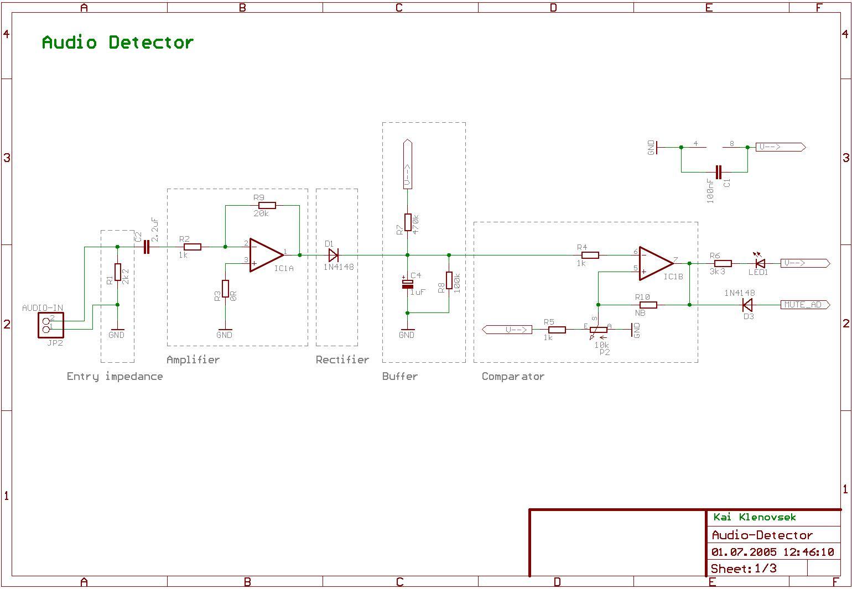 Cut Phone Line Detector Circuit