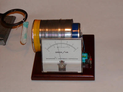 Cheap Sensitive Radiation Detector