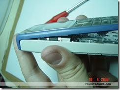 Nokia 1110 Mod_ placing covers back