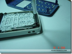 Nokia 1110 Mod_removing screws