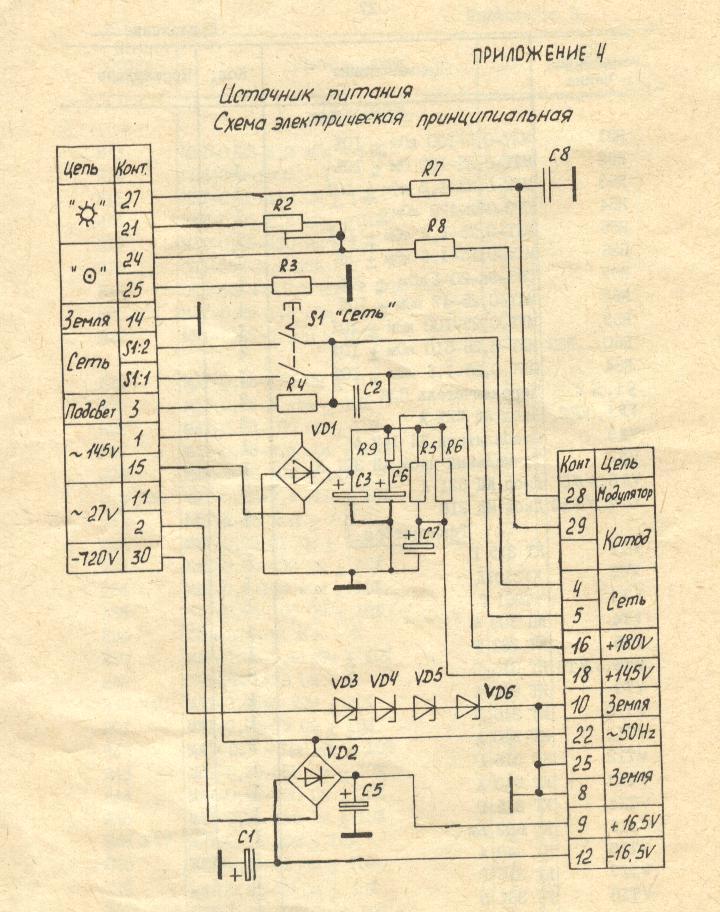 Осциллограф Н3015.