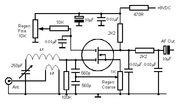 транзистор в данной схеме?