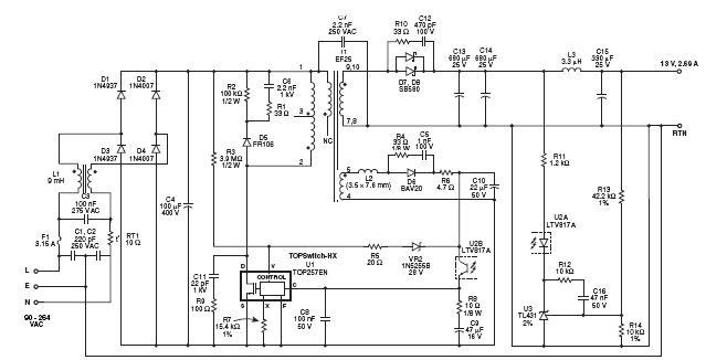 принципиальная электрическая схема гранты стандарт