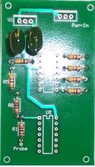 Следующий шаг - установка конденсатор