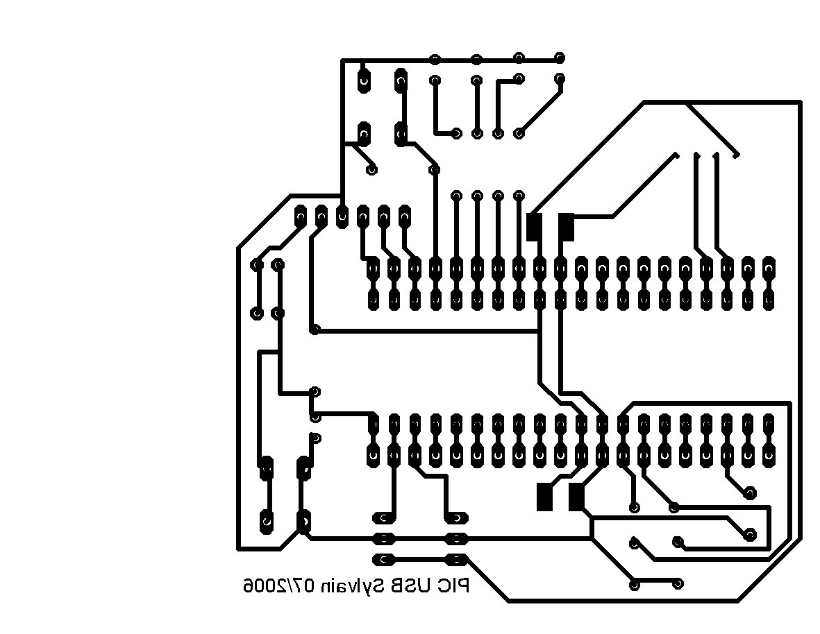 How To Build A Usb Device With Pic 18f4550 Or 18f The Geiger Counter Interface Schematics Pcb Experimentation Board