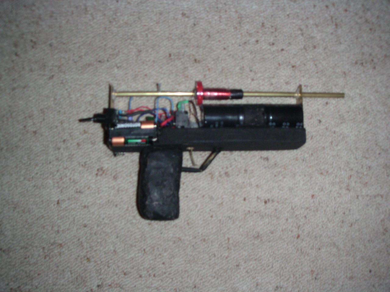 The Mk I coil Pistol