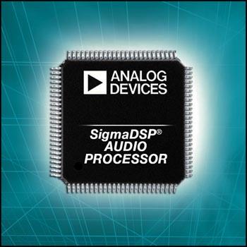 ADAU1442, ADAU1445, ADAU1446 Analog Devices представляет звуковые процессоры для обработки сигналов в автомобильных системах