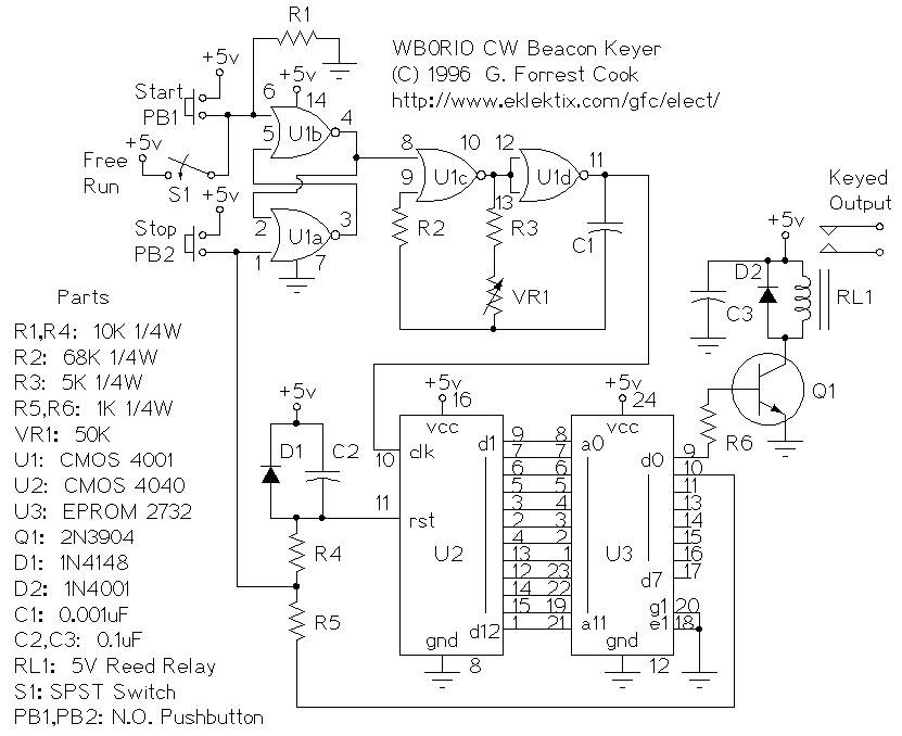 morse code circuits electronics tutorial and schematics discover rh hobbyprojects com