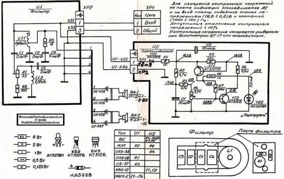 Двухполосные акустические системы фазоинверторного типа.  Применялись почти те же динамики 25ГДН-1-8-80 и 6ГДВ-1-16...