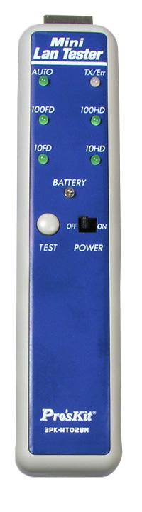 Тестер сетевого кабеля 3PK-NT028