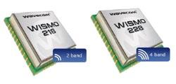 GSM-модуль начального уровня WISMO 218 и WISMO 228
