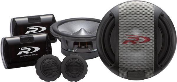 Автомобильная компонентная акустика Alpine SPR-17S