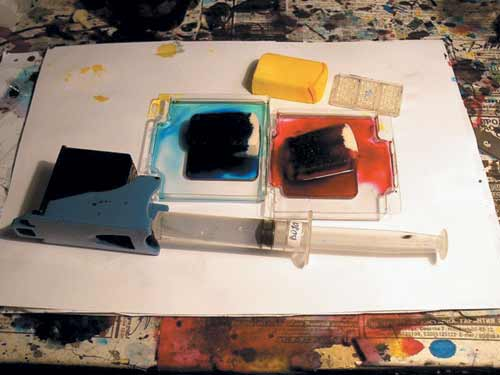 Подготовка картриджей струйных принтеров для повторной заправки.
